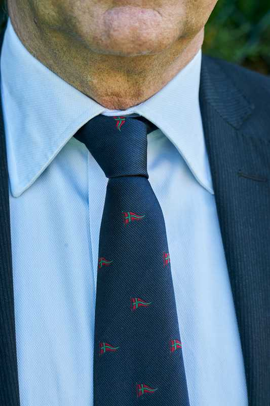 Club tie belonging to Michele Tartaglia, the director