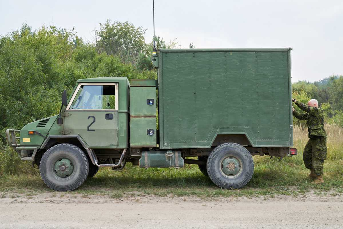Canadian army vehicle