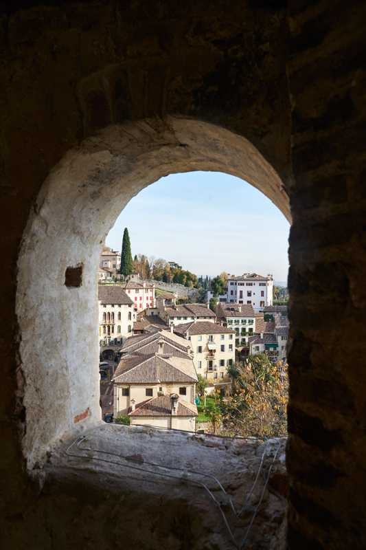 View from Asolo's castle