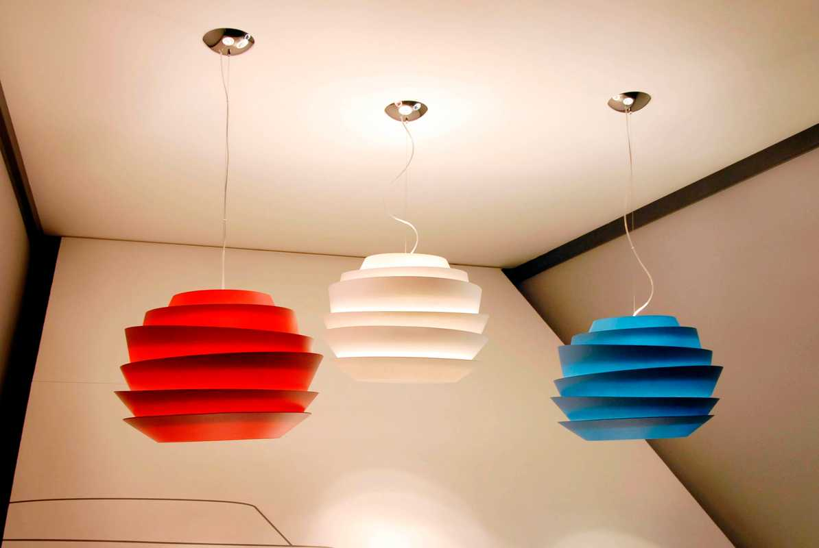 Le Soleil lights for Foscarini by Vicente Garcia Jimenez