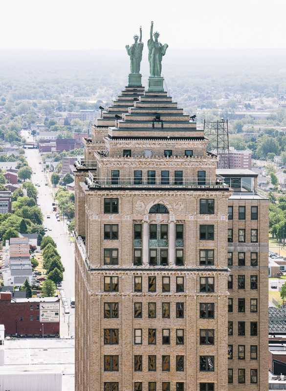 Liberty Building seen from city hall