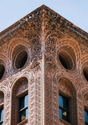 Terracotta detailing on Louis Sullivan's Guaranty Building