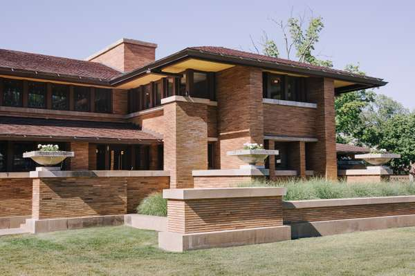 Darwin D Martin House by Frank Lloyd Wright
