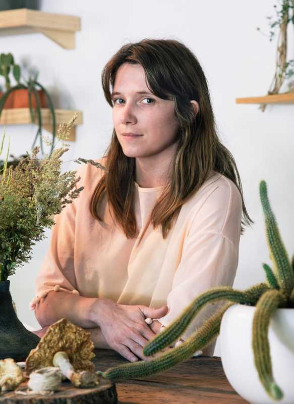 Erin Lally-Bauer, founder of Fern Croft flower shop on Bryant Street