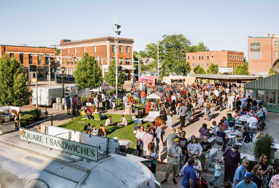 Food-Truck Tuesday at Larkin Square