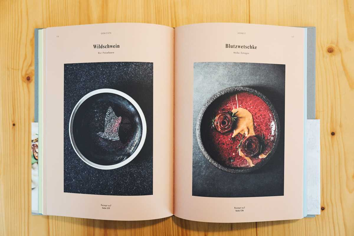 'Terroir' cookbook, designed by Bruch