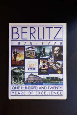 Book detailing the  history of Berlitz