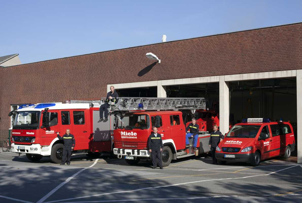 The Miele fire brigade