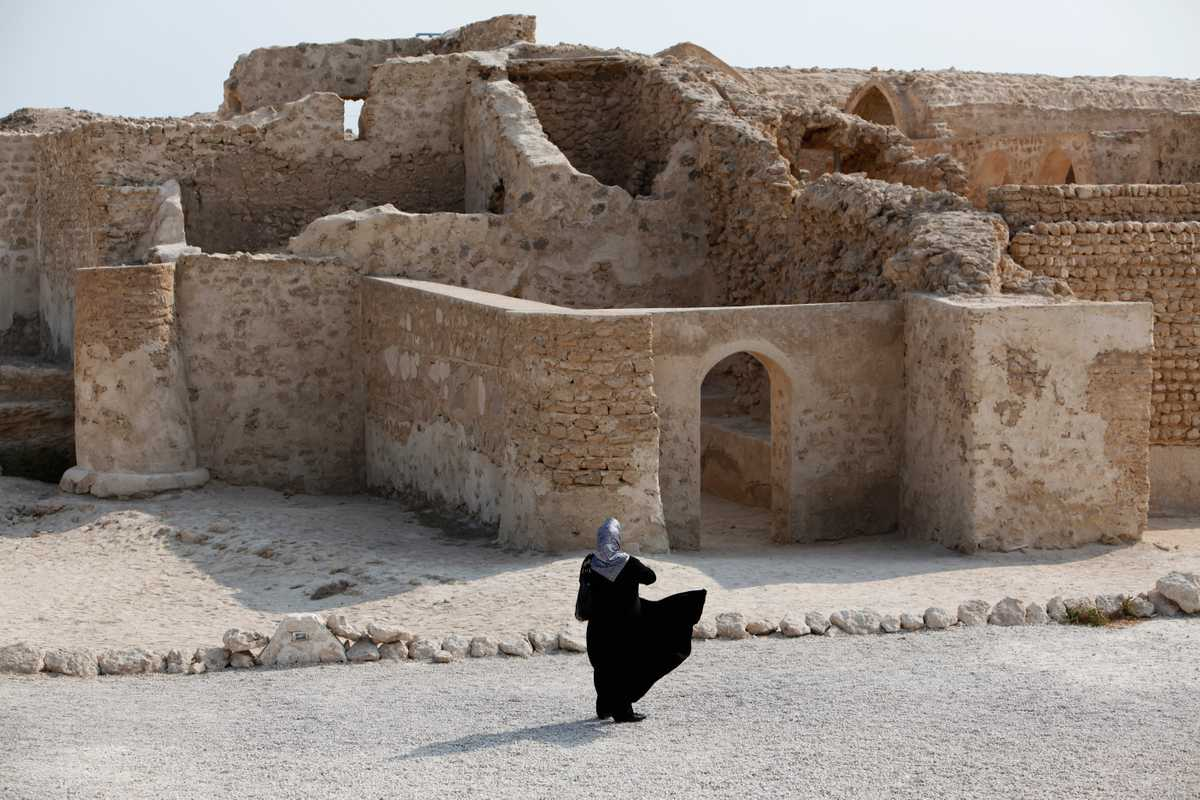 Harireh ruins, one of Kish's few non-commercial attractions