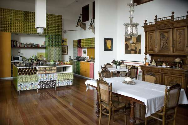 Guillermo Londoño's kitchen