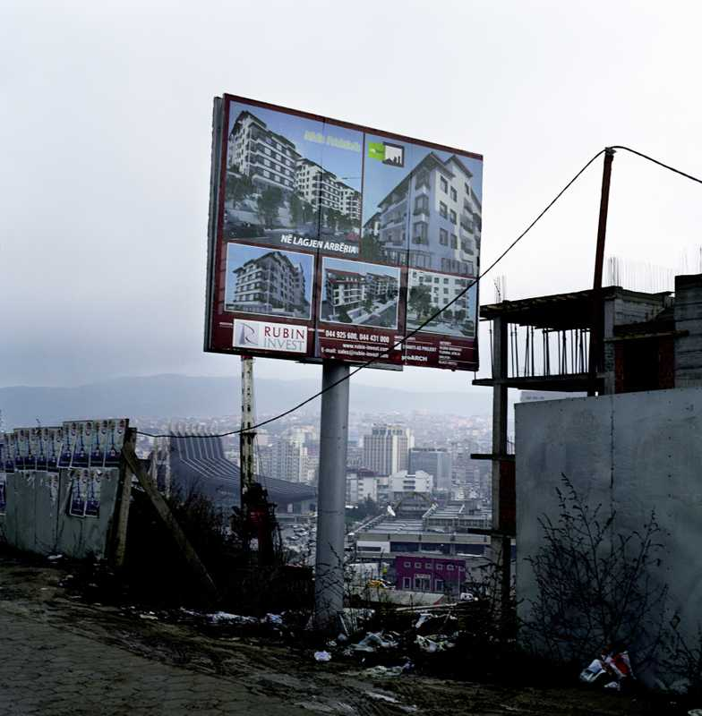 Property advert in Pristina