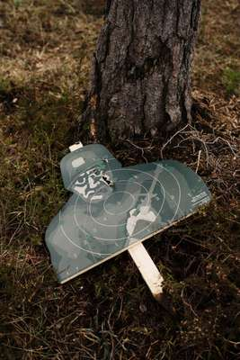 Target practice in the forest