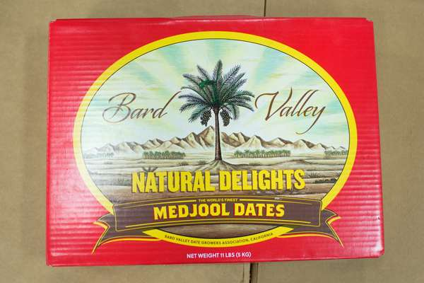 Bard Valley dates ready to ship