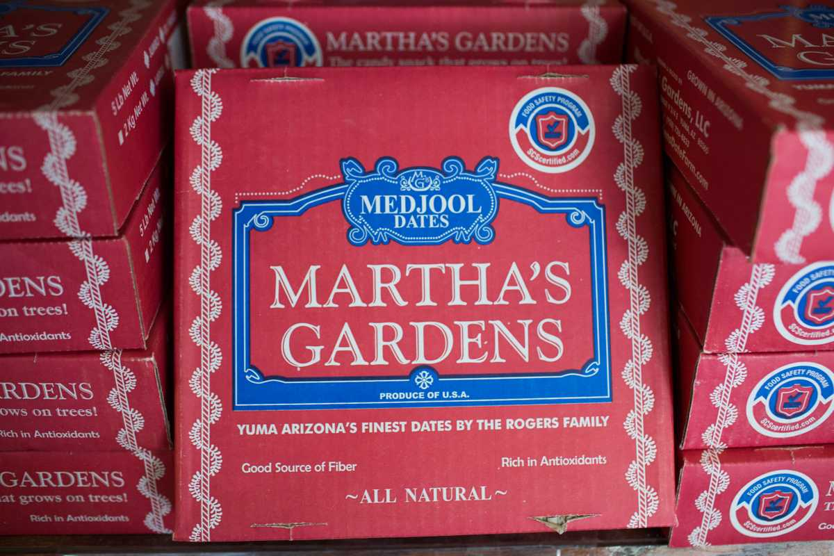 Martha's Gardens packaging