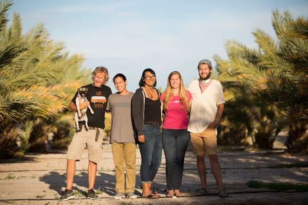 Naked Dates family (from l-r) Kase Limmeroth, Kody Limmeroth, Autumn Mastin, Misty Mastin and Isiah Mastin