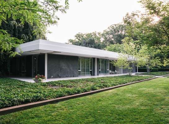 Miller House, designed by Eero Saarinen, Alexander Girard and Dan Kiley