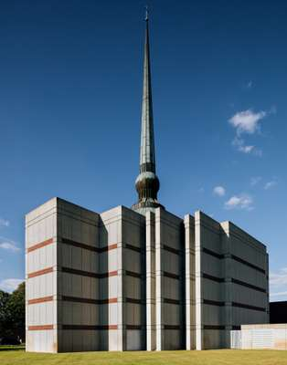 St Peter's Lutheran Church, designed by Gunnar Birkerts, 1988