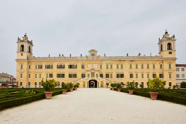 The 'Versailles of Parma' in which the school is housed