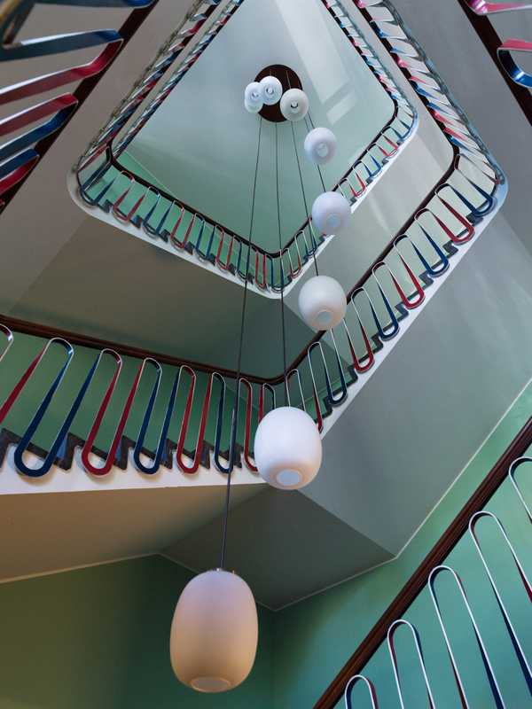 Stairways in allies' colours