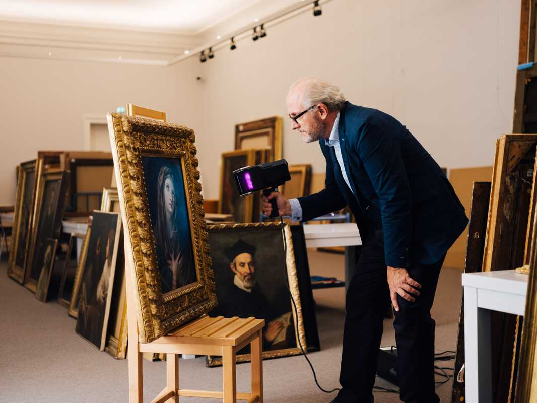 Mark MacDonnell, head of the Old Master Paintings Department