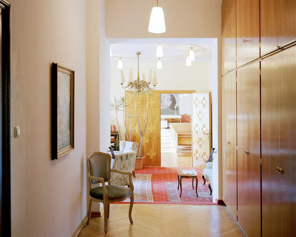Vintage interiors at the Villa Excelsior