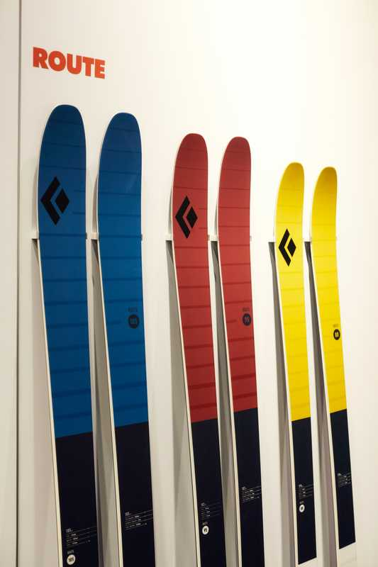 Black Diamond Route Skis