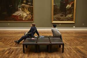 The Neue Pinakothek houses one of the world's most important 19th-century art collections