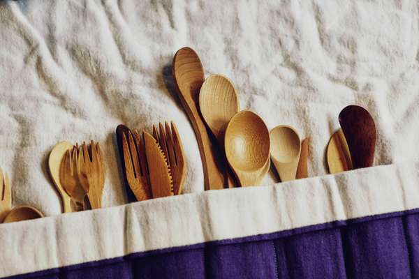 Armed with knives, forks and spoons