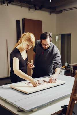 Silke Schlund and Michael Wimmer