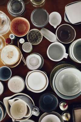 Collection of tableware