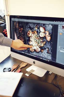 Shoot for 'Beef!' magazine