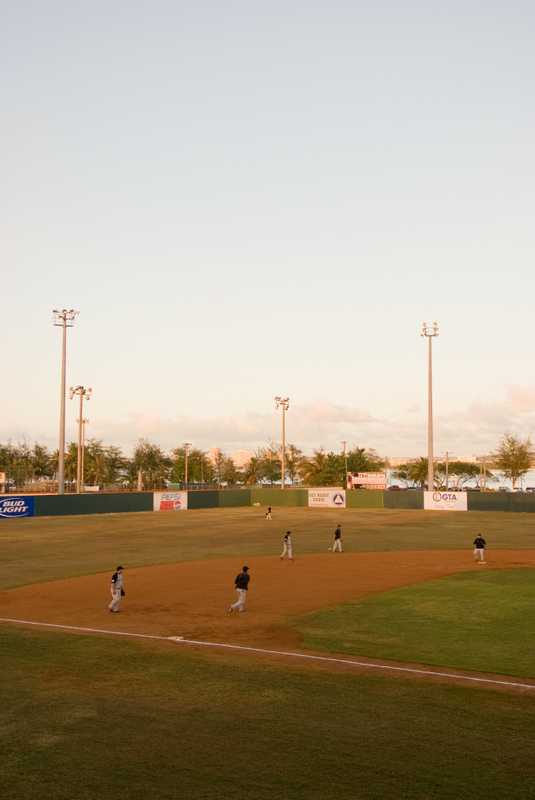 Paseo Baseball Stadium in Hagatña