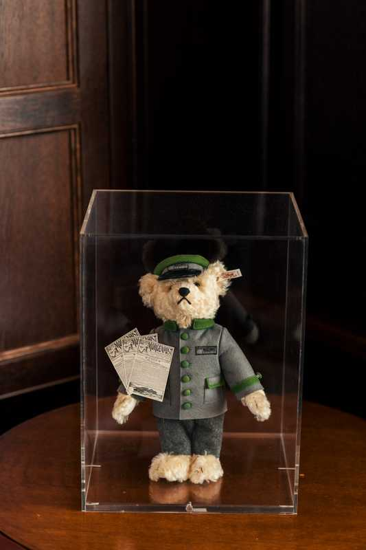 'Berliner Morgenpost' teddy  by Steiff