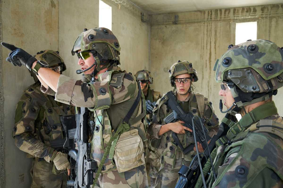 The 2nd Regiment is training for deployment to Mali next year