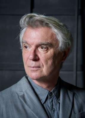 David Byrne before the show