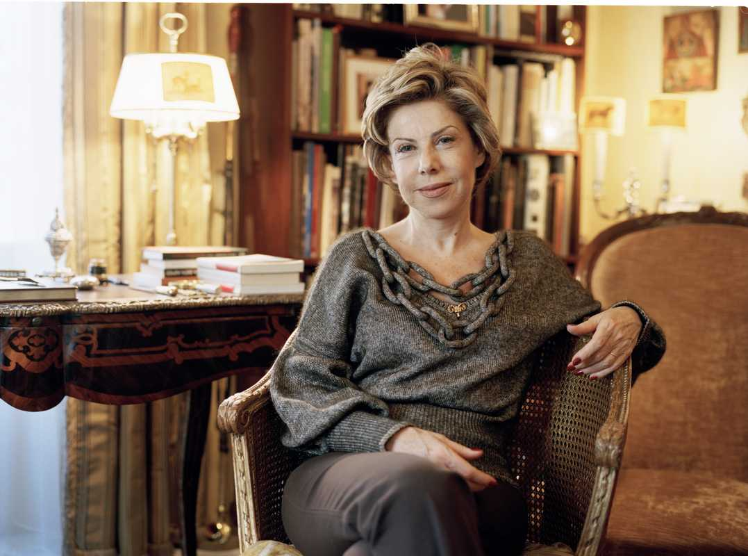 Author Myriam Antaki in her study