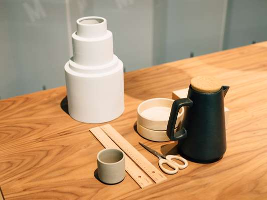 Streamlined homeware on show