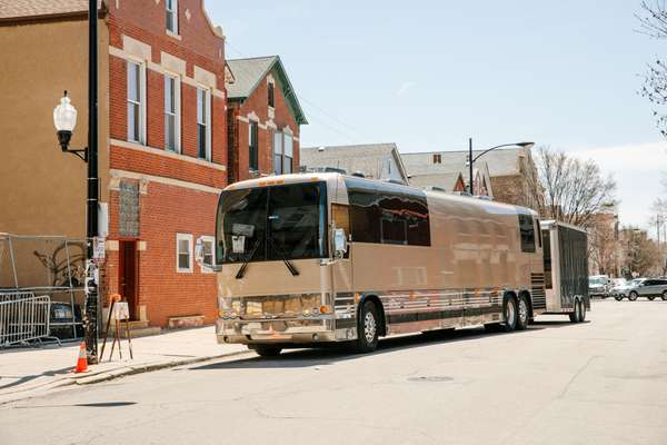 Calexico's tour bus