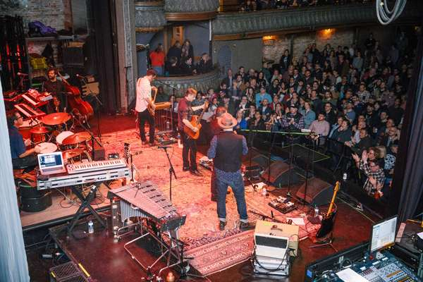 On stage at Thalia Hall, Chicago