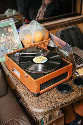 Communal record player