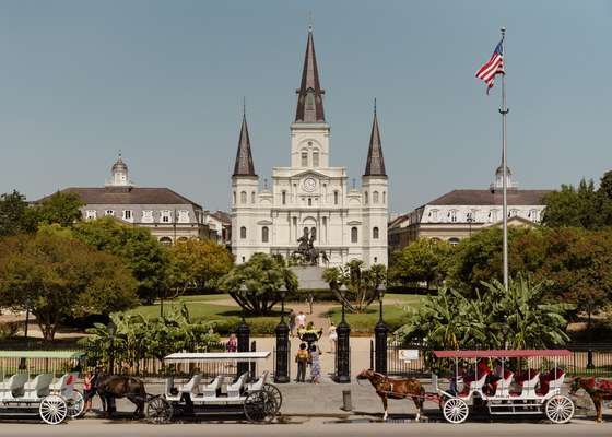 St Louis Cathedral: confess if you have to
