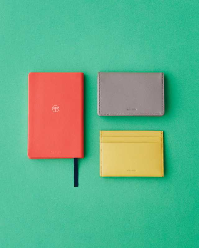 Notebook, wallet and cardholder by Treuleben