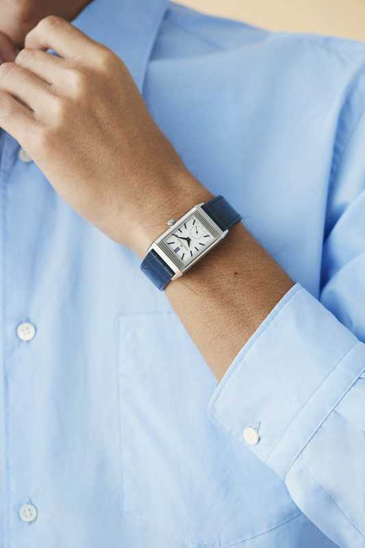 Shirt by Graphpaper, watch  by Jaeger-LeCoultre