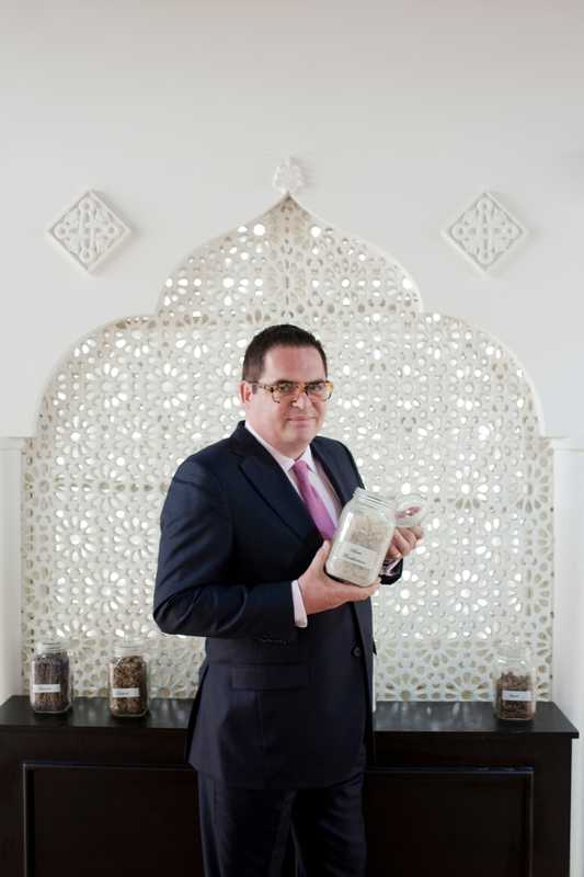 David Crickmore, CEO of Amouage