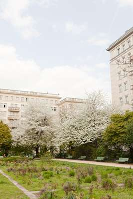 So-called 'workers' palaces' in Friedrichshain