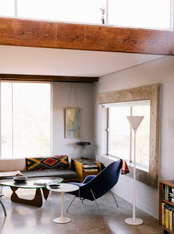 Desert modernist interior by Judith Chafee