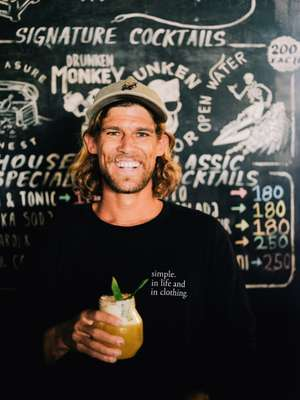 Dan Fitzgerald, Aussie  co-owner of bar Loose Keys
