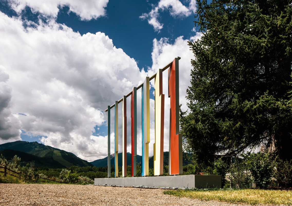 Bayer's 'Kaleidoscreen' at the Aspen Institute