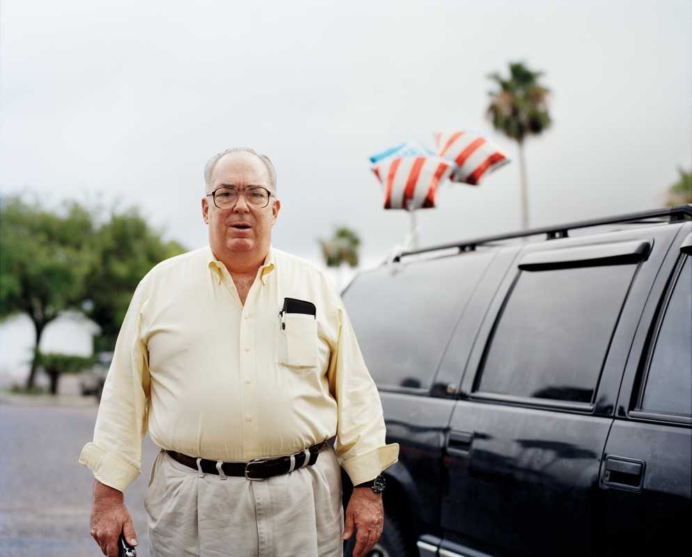 Pete Pranis, member of the McAllen Tea Party
