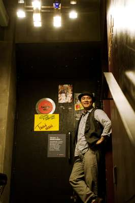 Kiichi, the owner of the night club Hinotama hall